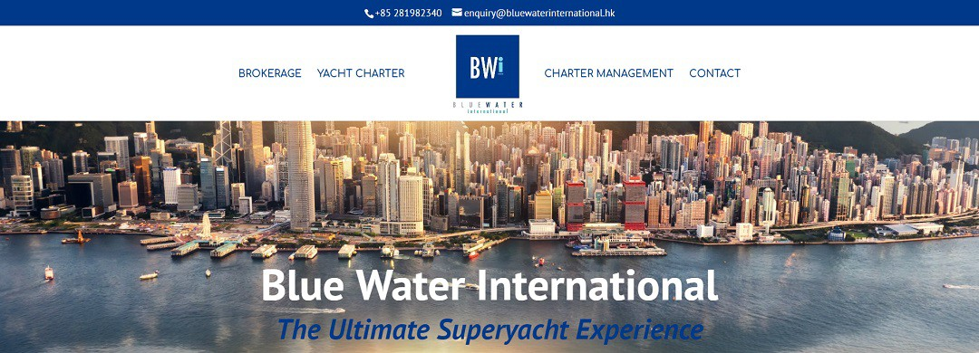 New Website Launched: Blue Water International