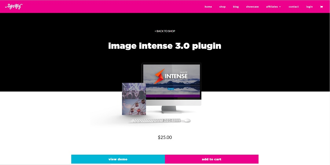 Image Intense plugin