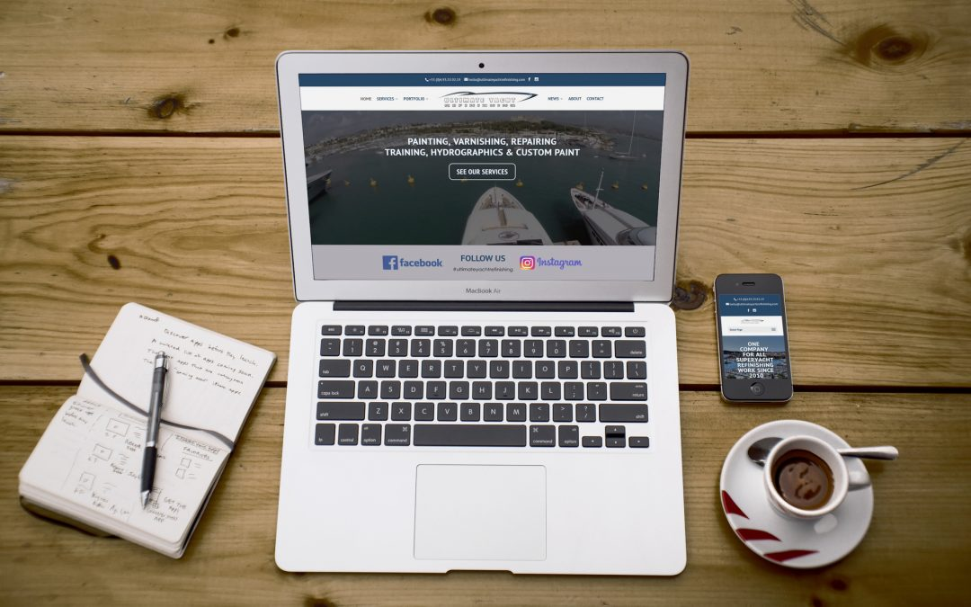 New Website Launched: Ultimate Yacht Refinishing