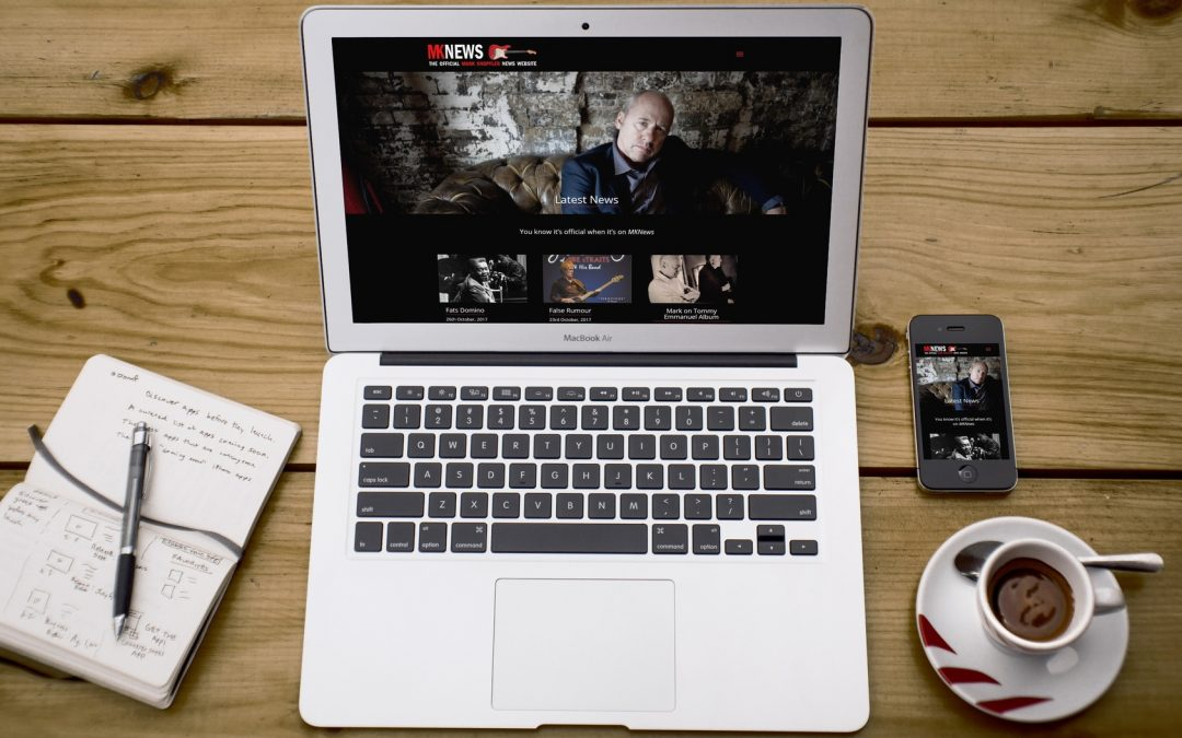 New Website Launched: Mark Knopfler News