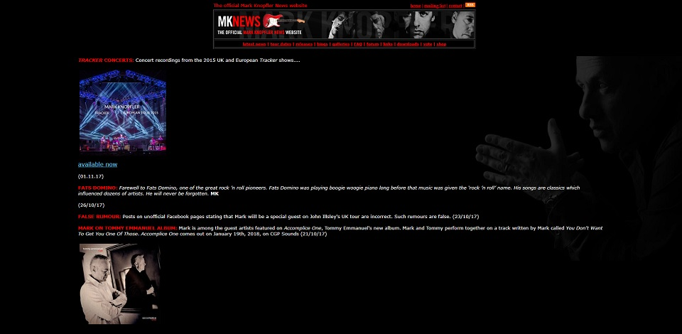 Homepage - previous MKN site
