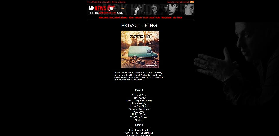 Releases page - previous MKN site